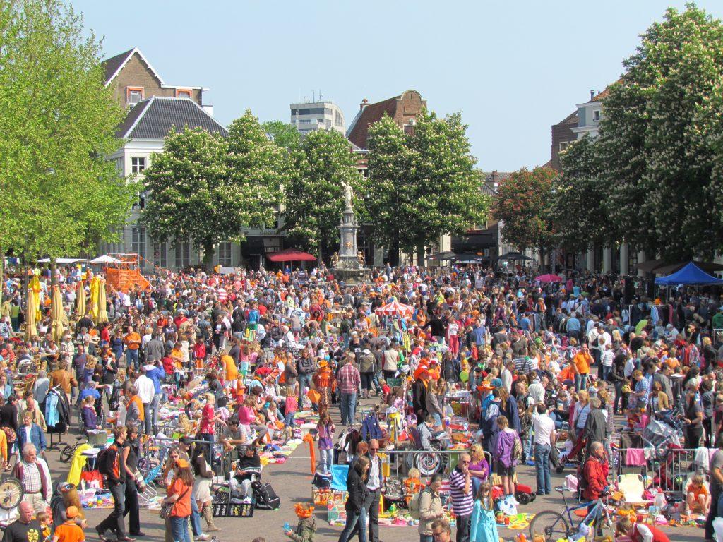 Kings Day Amsterdam Travel