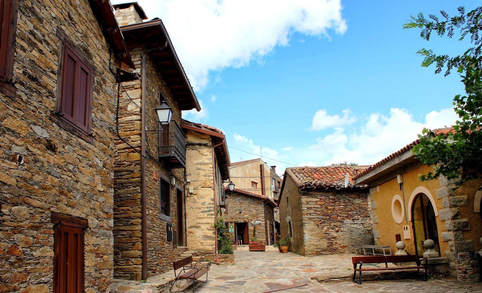 La Hiruela A Beautiful Town In Sierra Del Rinc 243 N Ovation