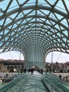 Baratashvili Bridge in Tbilisi