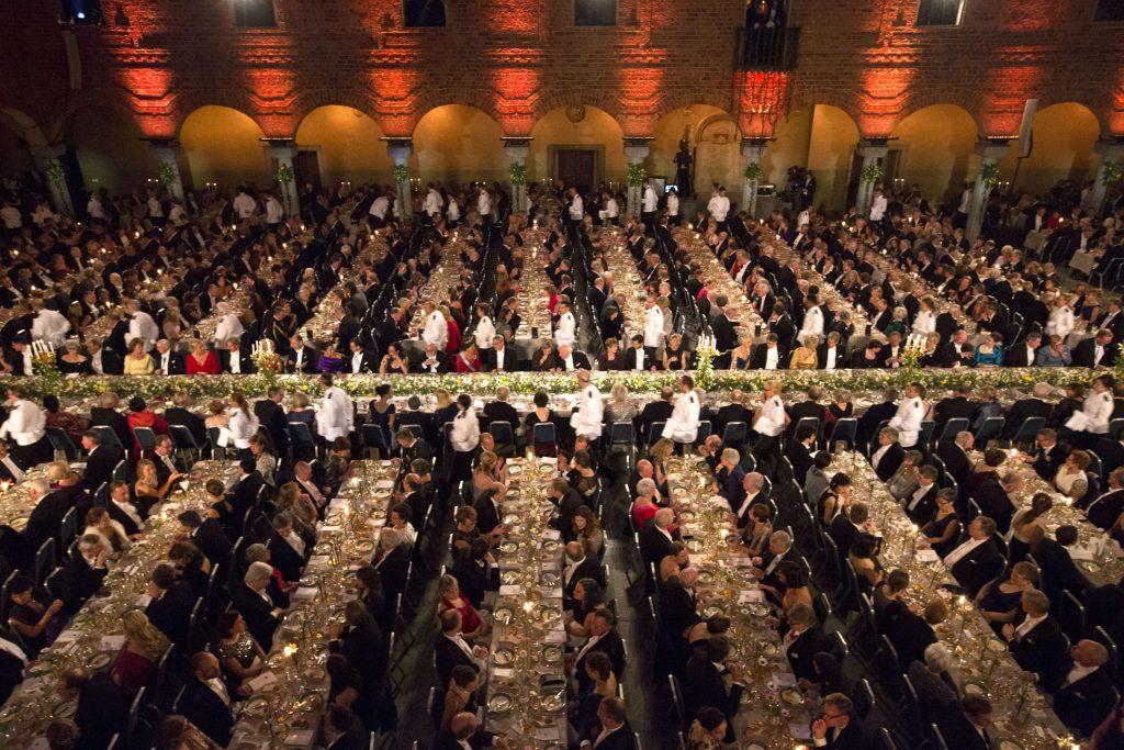 Nobel dinner Stockholm