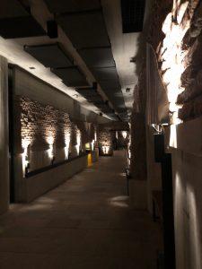 Brick tunnels