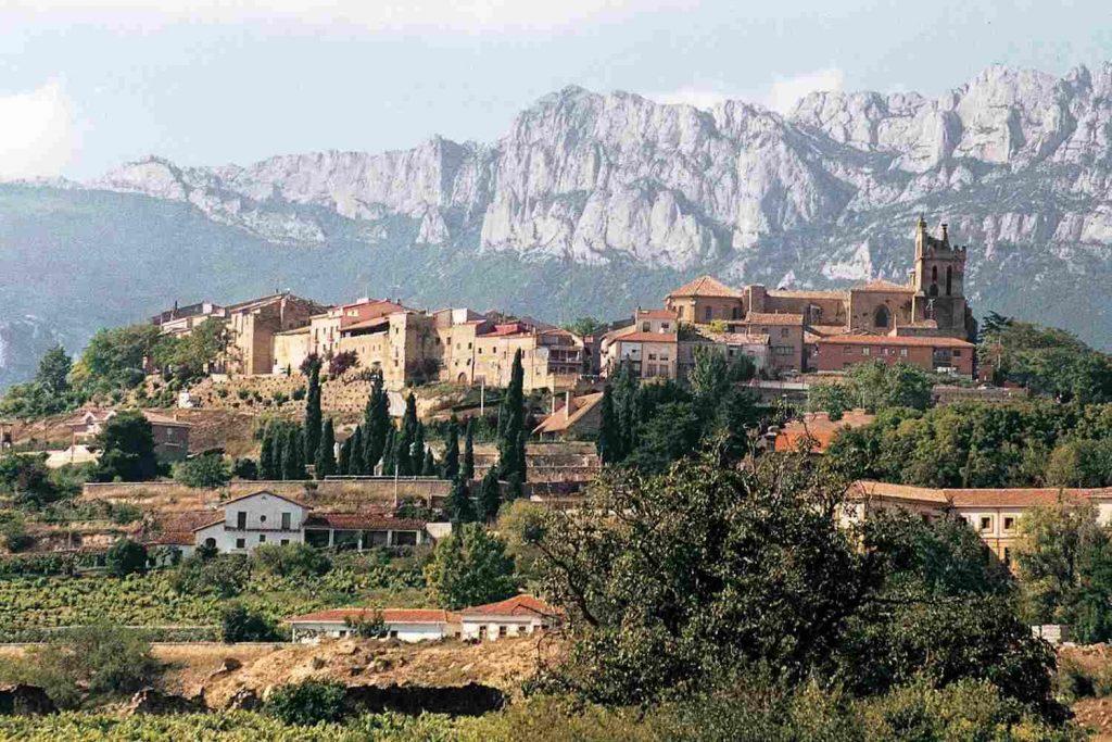 medieval town spain