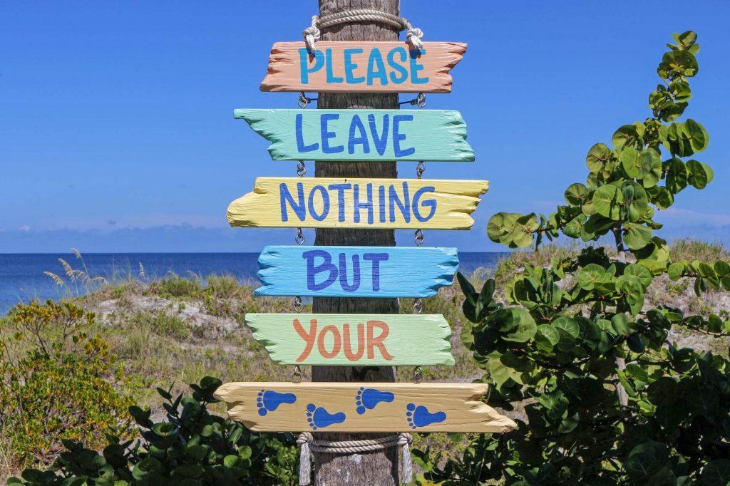 Australia sustainability beach