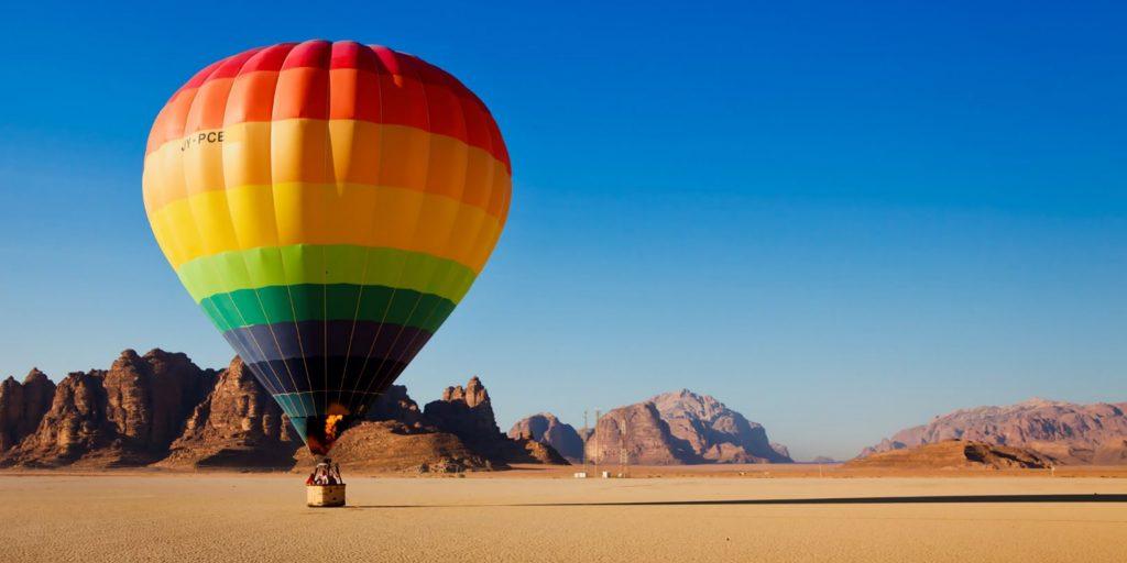 jordan hot air balloon