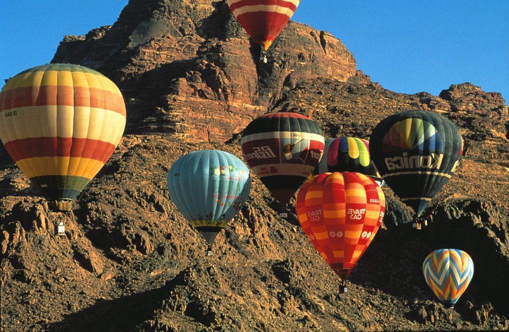 Jordan hot air balloon festival